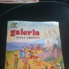Coleccionismo Álbumes: ÁLBUM GALERÍA DISNEY FHER CON 139 CROMOS. Lote 114837990