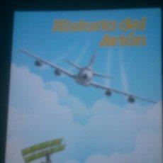 Coleccionismo Álbumes: HISTORIA DEL AVION. 1988 LIBRO ALBUM TROQUELADO POP UP. COLA CAO VIT IBERIA. Lote 114928479