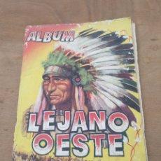 Coleccionismo Álbumes: ALBUM LEJANO OESTE CON 149 CROMOS MAS OTROS REPETIDOS DE REGALO. Lote 115275891