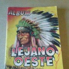 Coleccionismo Álbumes: ALBUM INCOMPLETO ,LEJANO OESTE EDICIONES GENERALES .56C.. Lote 115554951