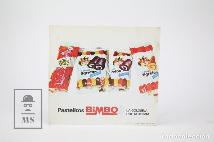 Coleccionismo Álbumes: Álbum de Cromos Vacío - El Show De La Pantera Rosa Y Tigretón - Bimbo, Año 1974 - Foto 3 - 116574703