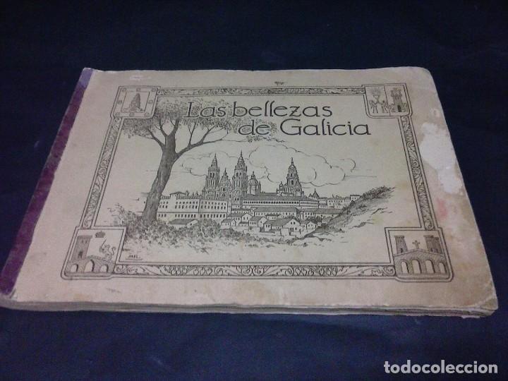 ALBUM DE CROMOS DE LAS BELLEZAS DE GALICIA (Coleccionismo - Cromos y Álbumes - Álbumes Incompletos)
