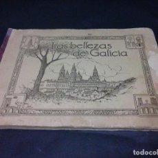 Coleccionismo Álbumes: ALBUM DE CROMOS DE LAS BELLEZAS DE GALICIA. Lote 115732091