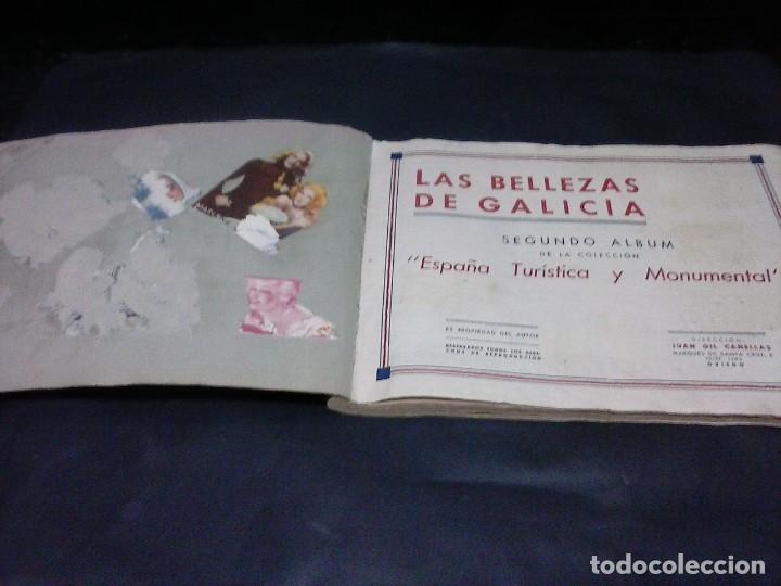 Coleccionismo Álbumes: album de cromos de las bellezas de galicia - Foto 2 - 115732091