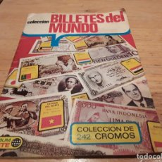 Coleccionismo Álbumes: BILLETES DEL MUNDO, ÁLBUM ESTE, INCOMPLETO. Lote 116235399