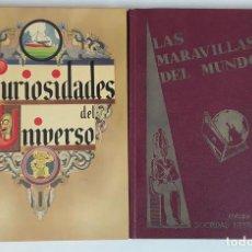 Coleccionismo Álbumes: LOTE DE 2 ÁLBUMS. SOCIEDAD NESTLÉ.. Lote 116335635