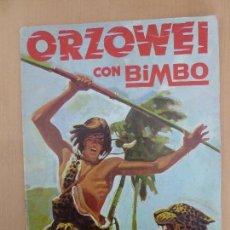 Coleccionismo Álbumes: ORZOWEI ALBUM DE CROMOS INCOMPLETO BIMBO. Lote 116338303