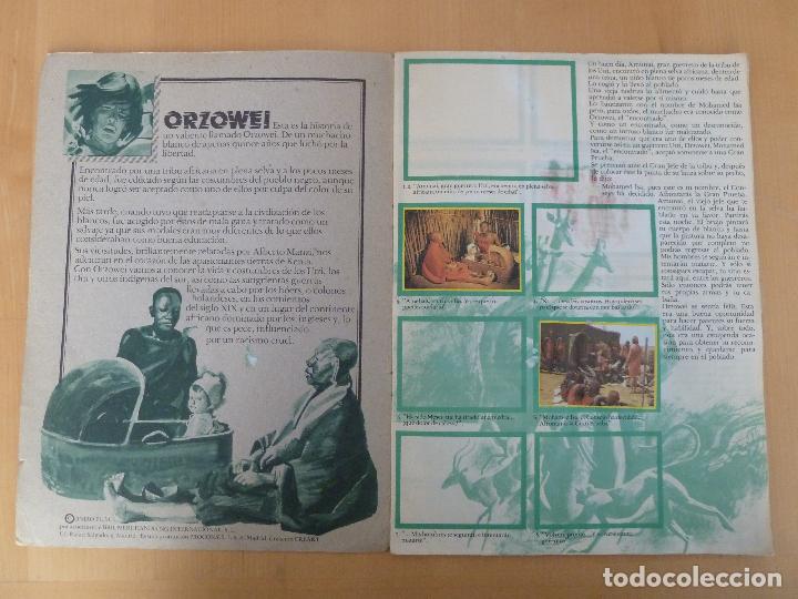 Coleccionismo Álbumes: orzowei album de cromos incompleto bimbo - Foto 2 - 116338303