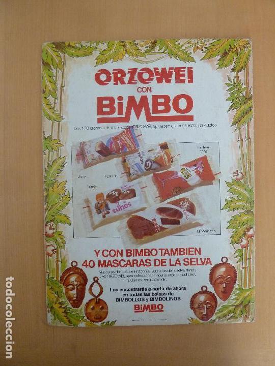 Coleccionismo Álbumes: orzowei album de cromos incompleto bimbo - Foto 4 - 116338303