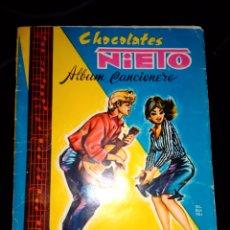 Coleccionismo Álbumes: ALBUM CHOCOLATES NIETO LLER Y VER FOTOS. Lote 116499983
