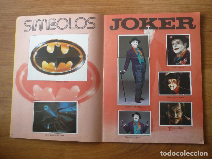 Coleccionismo Álbumes: ALBUM BATMAN DE ASTON CON 153 CROMOS (COMPLETO A FALTA DE 9) - 1989 - Foto 3 - 116848815