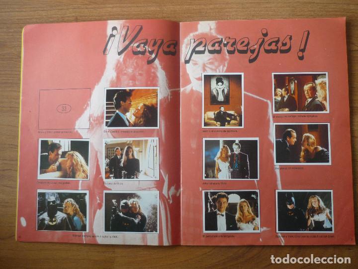 Coleccionismo Álbumes: ALBUM BATMAN DE ASTON CON 153 CROMOS (COMPLETO A FALTA DE 9) - 1989 - Foto 5 - 116848815