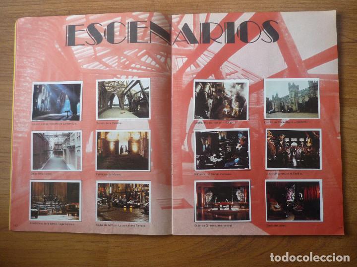 Coleccionismo Álbumes: ALBUM BATMAN DE ASTON CON 153 CROMOS (COMPLETO A FALTA DE 9) - 1989 - Foto 7 - 116848815