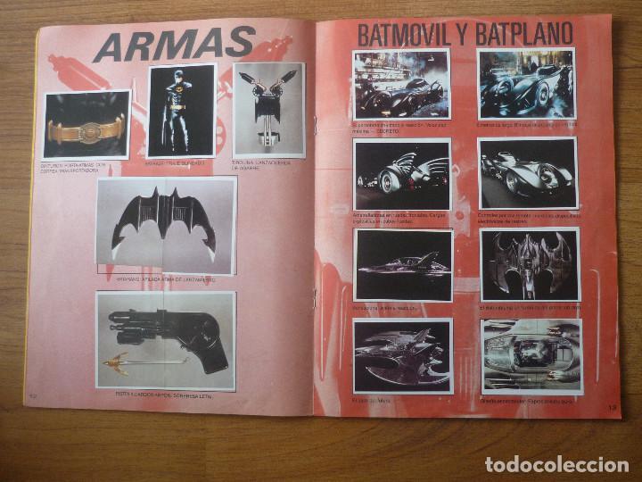 Coleccionismo Álbumes: ALBUM BATMAN DE ASTON CON 153 CROMOS (COMPLETO A FALTA DE 9) - 1989 - Foto 8 - 116848815