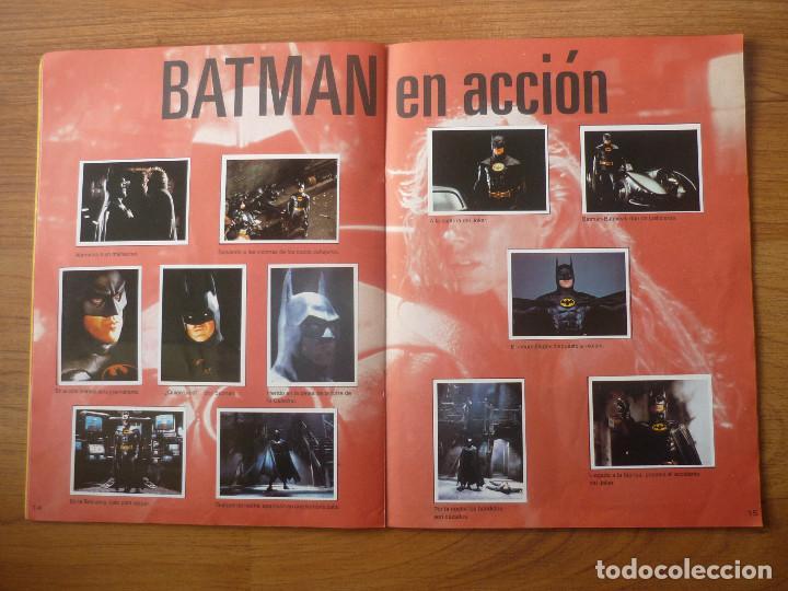 Coleccionismo Álbumes: ALBUM BATMAN DE ASTON CON 153 CROMOS (COMPLETO A FALTA DE 9) - 1989 - Foto 9 - 116848815