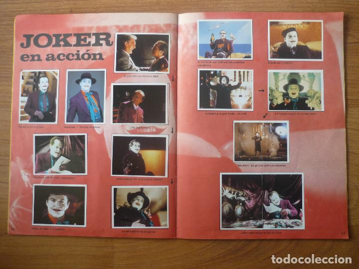 Coleccionismo Álbumes: ALBUM BATMAN DE ASTON CON 153 CROMOS (COMPLETO A FALTA DE 9) - 1989 - Foto 10 - 116848815
