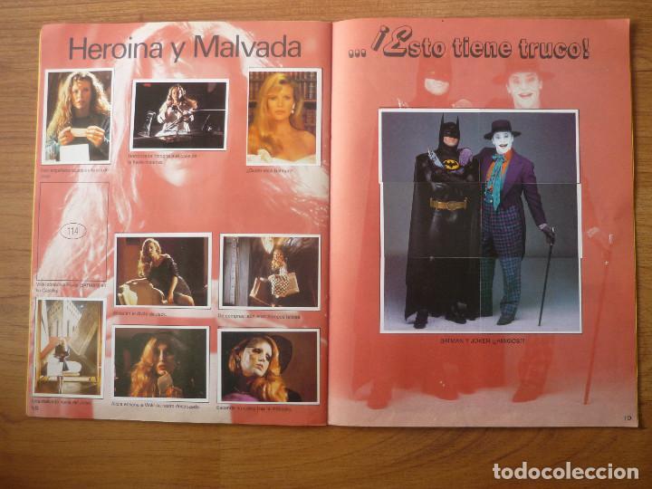 Coleccionismo Álbumes: ALBUM BATMAN DE ASTON CON 153 CROMOS (COMPLETO A FALTA DE 9) - 1989 - Foto 11 - 116848815