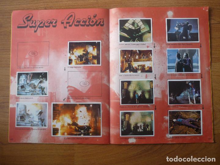 Coleccionismo Álbumes: ALBUM BATMAN DE ASTON CON 153 CROMOS (COMPLETO A FALTA DE 9) - 1989 - Foto 12 - 116848815