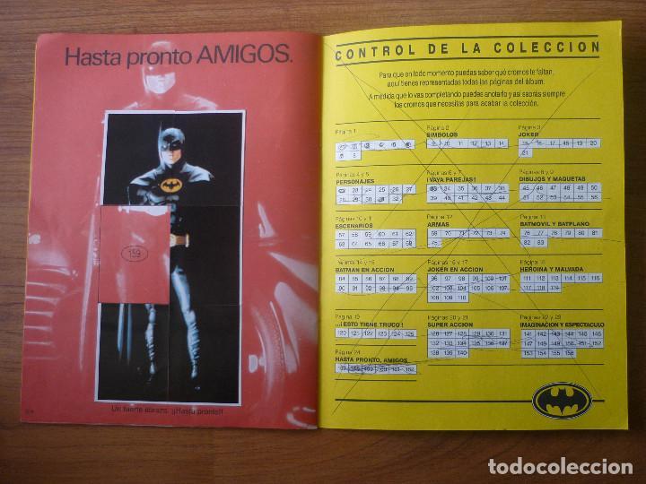 Coleccionismo Álbumes: ALBUM BATMAN DE ASTON CON 153 CROMOS (COMPLETO A FALTA DE 9) - 1989 - Foto 14 - 116848815
