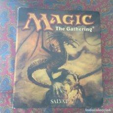 Coleccionismo Álbumes: ALBUM MAGIC THE GATHERING SALVAT MTG 55 HOJAS PARA CARTAS KREATEN. Lote 116929811