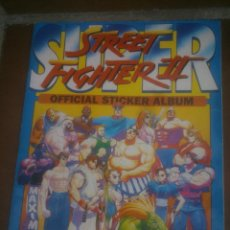 Coleccionismo Álbumes: SUPER STREET FIGHTER II - OFFICIAL STICKER ALBUM - MERLIN COLLECTIONS . Lote 117480827