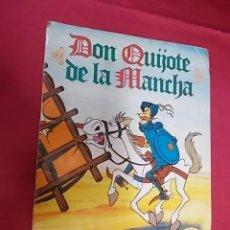 Coleccionismo Álbumes: ALBUM DE CROMOS INCOMPLETO. DON QUIJOTE DE LA MANCHA. DANONE.. Lote 118012599