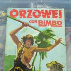 Coleccionismo Álbumes: ALBUM CROMOS BIMBO ORZOWEI INCOMPLETO MUY BUEN ESTADO. Lote 118018315