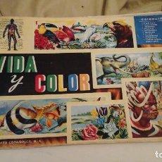 Coleccionismo Álbumes: VIDA Y COLOR . PPIOS AÑOS 60. Lote 118034675