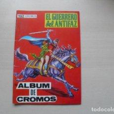 Coleccionismo Álbumes: ALBUM DE EL GUERRERO DE EL ANTIFAZ. Lote 118053619