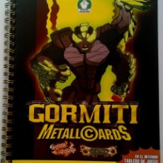Collectable Incomplete Albums - Gormiti Metall Cards Gormiti MetallCards - Vacio - 118078195