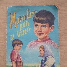 Coleccionismo Álbumes: MARCELINO PAN Y VINO ALBUM DE CROMOS INCOMPLETO EDITORIAL FHER 1962. Lote 118236655