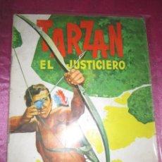 Coleccionismo Álbumes: ALBUM TARZAN EL JUSTICIERO IN COMPLETO A FALTA DE 19. CROMOS. Lote 118491415
