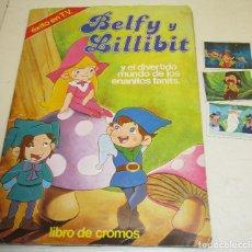 Coleccionismo Álbumes: ALBUM BELFY Y LILLIBIT, PACOSA DOS 1982, CON 187 CROMOS DE 200. Lote 118746454
