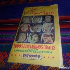 Coleccionismo Álbumes: EL ÁLBUM DE LA TELE INCOMPLETO FALTAN 36 DE 98 CROMOS. PRONTO 1979. LOS ÁNGELES DE CHARLIE BARETTA... Lote 118881227