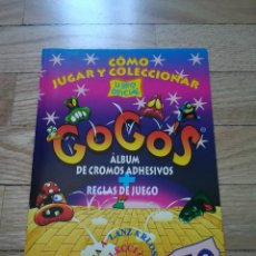 Coleccionismo Álbumes: ALBUM GOGOS - 1996 (INCOMPLETO - FALTAN 24). Lote 119134711