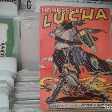 Coleccionismo Álbumes: ANTIGUO ALBÚM CROMOS HOMBRES DE LUCHA ,EDITORIAL RUIZ ROMERO. Lote 119208099