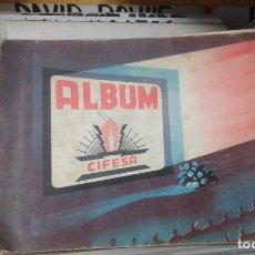 Coleccionismo Álbumes: ALBUM CIFESA INCOMPLETO. ,FALTAN POCOS CROMOS. Lote 119210783