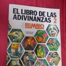 Coleccionismo Álbumes: ALBUM DE CROMOS INCOMPLETO. EL LIBRO DE LAS ADIVINANZAS 2 . BIMBO. FLTAN 13 CROMOS. Lote 119240691