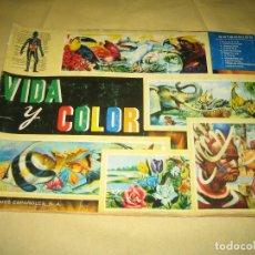 Coleccionismo Álbumes: VIDA Y COLOR - FALTA EL CROMO NUMERO 305 . Lote 119524967