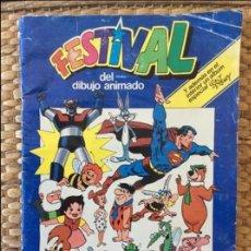 Coleccionismo Álbumes: ÁLBUM CROMOS FESTIVAL DEL DIBUJO ANIMADO. Lote 120132359