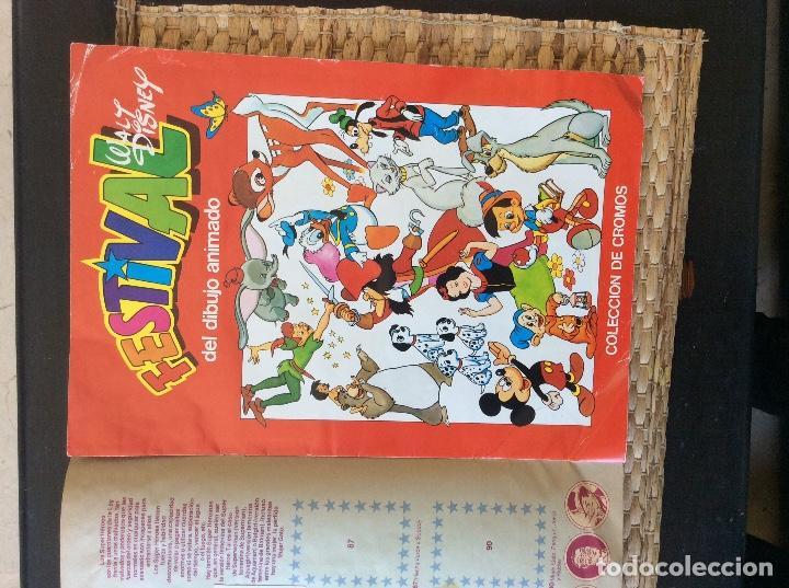 Coleccionismo Álbumes: Álbum cromos festival del dibujo animado - Foto 2 - 120132359