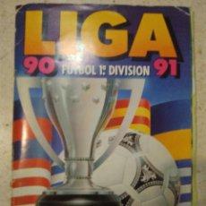 Coleccionismo Álbumes: LIGA 90/91 MUCHÍSIMOS CROMOS TODOS LOS FICHAJES. Lote 120213915