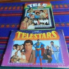 Colecionismo Cadernetas: GRAN PRECIO. TELESTARS TELE STARS TELE-STARS, TELE POP, SUPER STARS INCOMPLETO ESTE 1978 1980 1986.. Lote 120263659