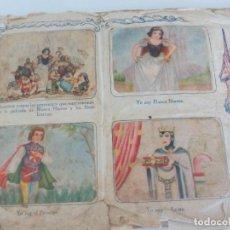 Coleccionismo Álbumes: CROMOS BLANCA NIEVES FHDER AÑOS 50 =. Lote 120396639