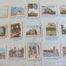 Coleccionismo Álbumes: CROMOS TÓMBOLA DIOCESANA =. Lote 120400631