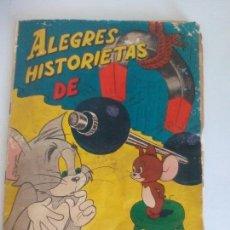 Coleccionismo Álbumes: ALEGRES HISTORIAS DE TOMA Y JERRY ÁLBUM CROMOS. Lote 120398939
