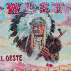 Coleccionismo Álbumes: WEST PRECINTADO Y CON EL FUERTE FORT APACHE. Lote 121039067