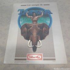 Coleccionismo Álbumes: ÁLBUM LOS AMIGOS DE TARZAN PANRICO 1983. Lote 121231382