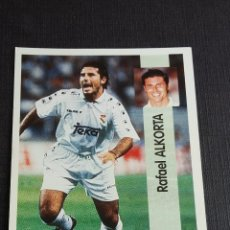 Coleccionismo Álbumes: LIGA 96/97 1996 1997 - PANINI - 85 ALKORTA - REAL MADRID ( NUNCA PEGADO ). Lote 121808611