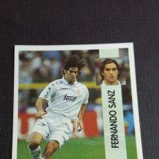Coleccionismo Álbumes: LIGA 96/97 1996 1997 - PANINI - 88 FERNANDO SANZ - REAL MADRID ( NUNCA PEGADO ). Lote 121808767